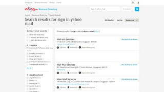 Sign In Yahoo Mail in Singapore