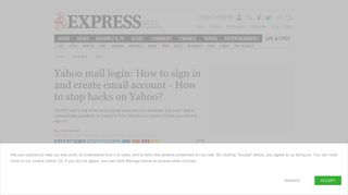 Yahoo mail login: How to sign in and create email account - How to ...