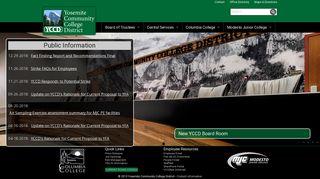 Yosemite Community College District
