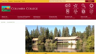Columbia College Blackboard Tips