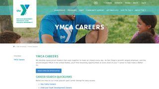 YMCA Careers   YMCA of San Diego County