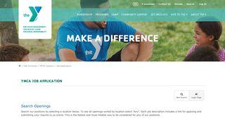 Job Application   YMCA of San Diego County