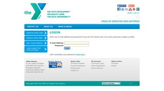 Employment - YMCA of Greater San Antonio