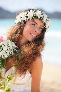 Bridal Haku Lei
