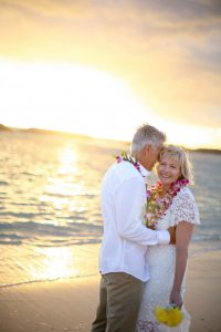 Vow Renewal at Magic Island