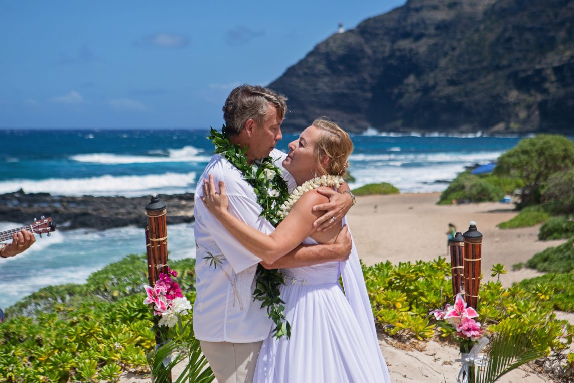Makapu'u Beach Wedding
