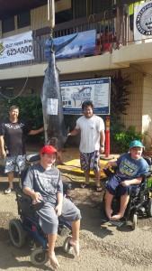 Family n Friends 2015 - Ryan Nishikawa - Kacy K - Biggest Marlin  201.4 lbs - 1