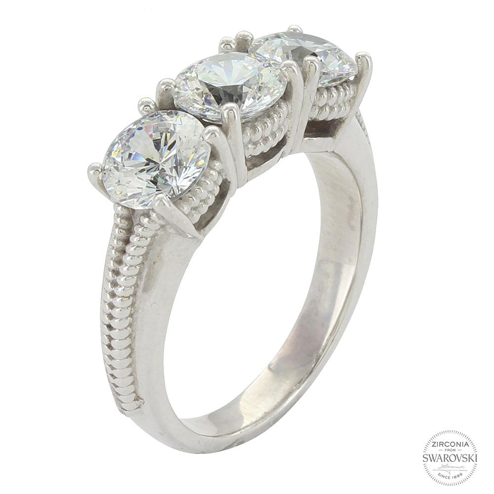 Sterling Lane Infinity Ring