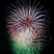 心にしみる、日本の花火
