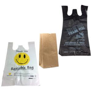 PLASTIC & PAPER BAGS