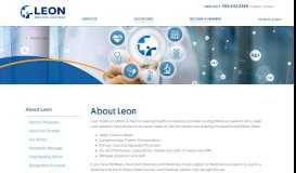 About Leon - LEON Medical Centers