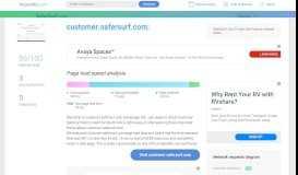 Access customer.safersurf.com. SaferSurf-Customer-OnlineTV