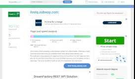 Access liveiq.subway.com. Login