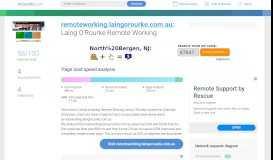 Access remoteworking.laingorourke.com.au. Laing O'Rourke ...