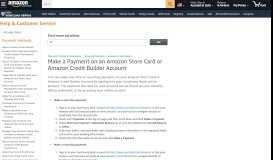 Amazon.com Help: Make a Payment on an Amazon Store ...