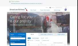 American Airlines - Airline tickets and cheap flights at AA.com