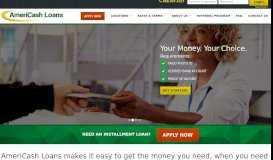 AmeriCash Loans: Installment Loans