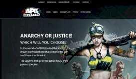 APB Reloaded - GamersFirst - GamersFirst
