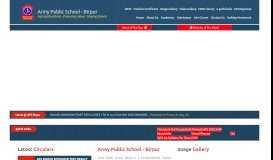 ARMY PUBLIC SCHOOL BIRPUR, DEHRADUN |
