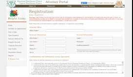 Attorney Portal | Registration - Maryland Healthcare Clinics