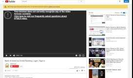 Bank of America Online Banking Login | Sign-in - YouTube