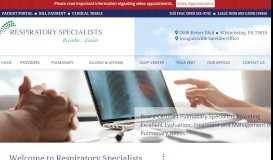 Berks Schuylkill Respiratory Specialists