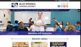 Blue Springs School District: HOME
