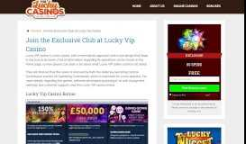 Boost your Bankroll with a £500 Lucky Vip Casino Bonus