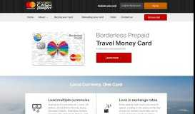 Borderless Prepaid - Multi-currency Cash Passport