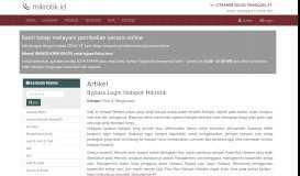 Bypass Login Hotspot Mikrotik - Mikrotik.ID