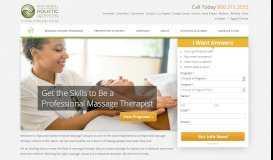 California Massage Schools - National Holistic Institute ...