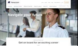 Career - Hapag-Lloyd