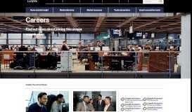 Careers - Lloyds of London