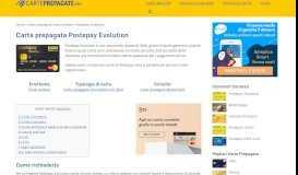 Carta Postepay Evolution - Come verificare il saldo, ricaricarla ...