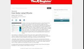 Case Study: Laing O'Rourke - Whitepapers - The Register