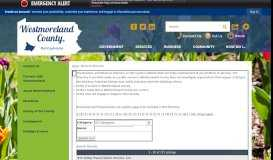 Click to home - Westmoreland County, PA - Official Website