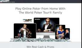 ClubWPT Online Poker – Brought To You By The World Poker ...