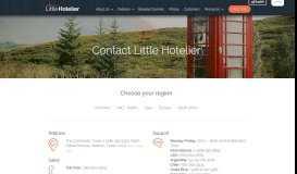 Contact - Little Hotelier
