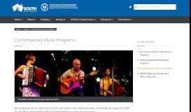 Contemporary Music Grant Program: FAQs - Music Development Office