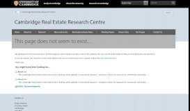 Corporate PPT Template - LOR - Cambridge Real Estate ...