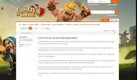 Current fix for account switching problem - Supercell Community Forums