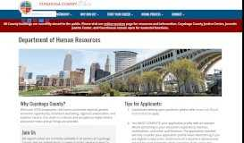 Cuyahoga County Department of Human Resources