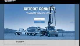 Detroit Connect - Portal