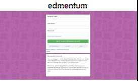 Edmentum® Learning Environment Login