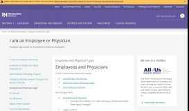 Employee and Physician Login   Northwestern Medicine