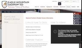 Family and Student Access / Overview