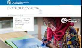 FAO E-Learning Centre