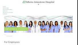 For Employees - Athens-Limestone Hospital