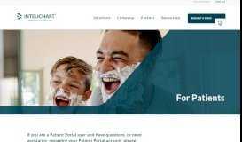 For Patients   InteliChart - Intelichart.com