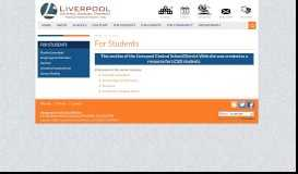 For Students » Liverpool Central School District